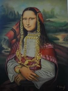 Moncef Riahi - Monna Lisa