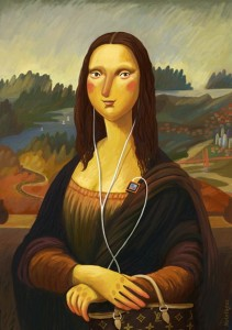 Nata Metlukh - Mona lisa in my style for Moonsters