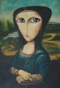 Paulo Govêa - Mona Lisa del Giocondo