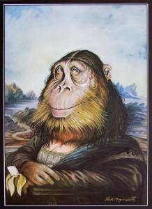 Rick Meyerowitz – The Mona Gorilla
