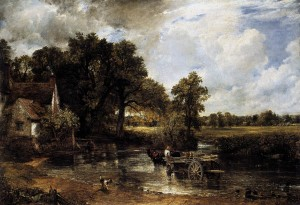 John Constable, El carro de heno (1821), National Gallery, Londres