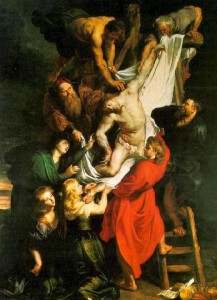 Peter Paul Rubens, Descendimiento de la Cruz (1611-1614), Catedral de Amberes