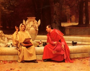 A Fine Point de Jehan Georges Vibert