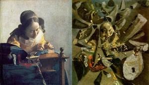 La encajera: Vermeer frente a Dali