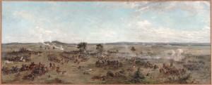 La batalla de Gettysburg de Paul Philippoteaux