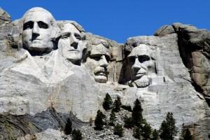 Monte Rushmore de Gutzon Borglur