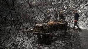 Obra de Chiharu Shiota