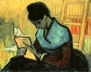 La lectora de novela