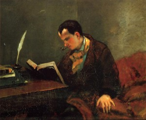 Baudelaire - Gustave Courbet