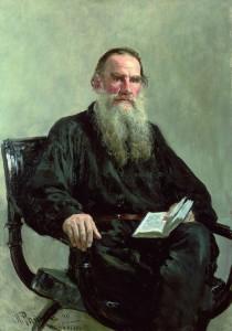 Tolstoy - Ilya Efimovich Repin