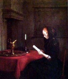 Mujer leyendo2