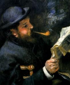 Monet leyendo