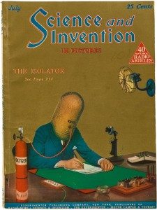 Portada de la revista Science and Invention