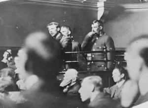 George Edalji en el juicio