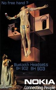 Publicidad inspirada en Dalí