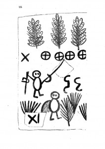 Libro de los salvajes, página 114