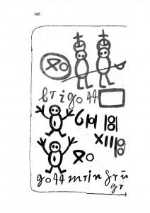 Libro de los salvajes, página 148
