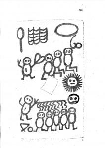 Libro de los salvajes, página 161