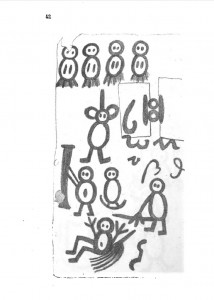 Libro de los salvajes, página 42