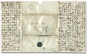 Carta cruzada de 1837, Ontario, Canadá