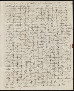 Carta cruzada de 1837, Massachusetts, EE.UU.