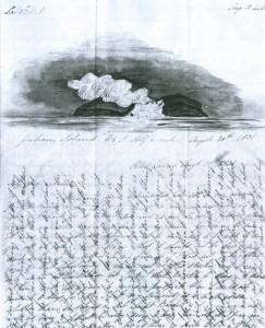 Carta del capitán Charles Barker