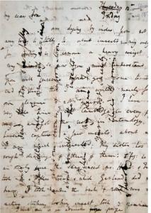 Carta de Charles Darwin