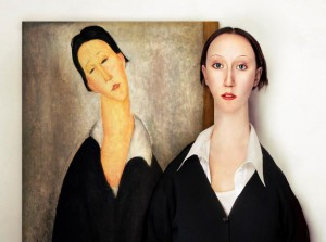 Retrato de mujer polaca de Amedeo Modigliani