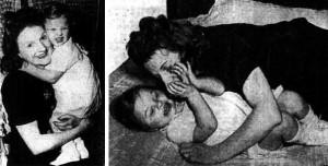 Jean reuniéndose con su madre