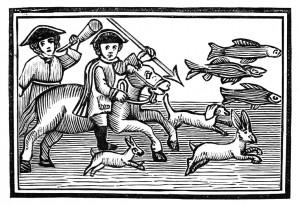 El escudero loco y su caza fatal