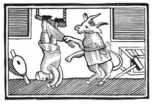 El buey se convirtió en carnicero