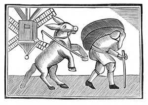 El burro honesto y el molinero