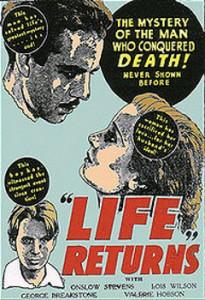 Portada de Life Returns, la películas sobre Cornish