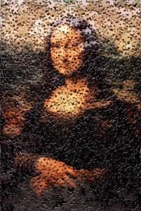 Mona Lisa con puzzle