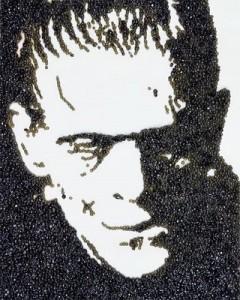 Frankenstein con caviar negro